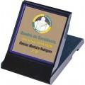 Ref. 61846-D (Mini placa homenagem dourada)